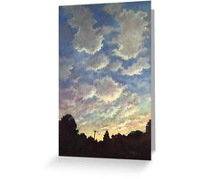 The Trumpet of God Greeting Card