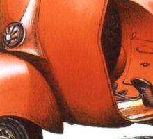 1958 Vespa 150 gs motorbike Sticker