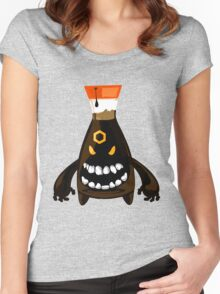 Evil Soy Sauce Women's Fitted Scoop T-Shirt