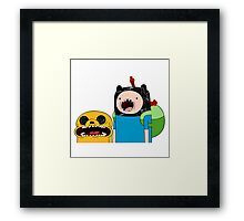 Adventure Time Jack and Finn  Framed Print