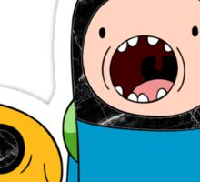 Adventure Time Jack and Finn  Sticker