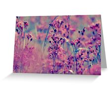 Endless Beauty On the Meadow Greeting Card