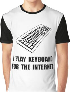 Keyboard Internet Graphic T-Shirt