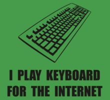 Keyboard Internet Kids Tee