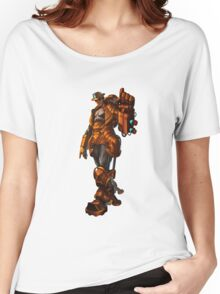Robbie the robot boy from Submantle Women's Relaxed Fit T-Shirt