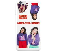 Miranda Sings x4 iPhone Case/Skin