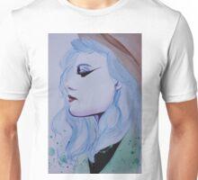blue haired girl Unisex T-Shirt