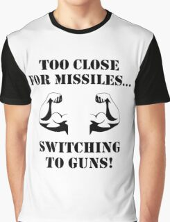 Missiles To Guns Biceps Graphic T-Shirt