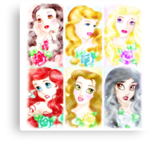The Garden Of Princesses  Canvas Print