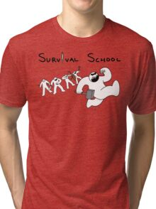 Survival School Tri-blend T-Shirt