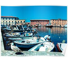 My Town, Livorno Poster