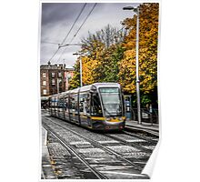Dublin's City Trams Poster