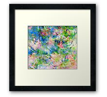 Amazing Colours Framed Print