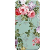 Mint Floral iPhone Case/Skin
