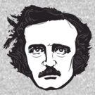 Edgar Allan Poe by mikewirth