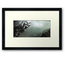 the duel Framed Print