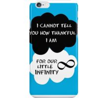 The Fault in Our Stars Quote iPhone Case/Skin