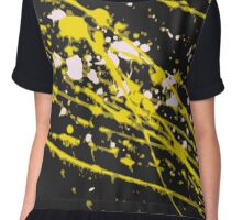 Flow - Warm (Abstract 2 of 6) Chiffon Top