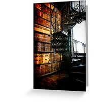 Books, Books and more Books Greeting Card