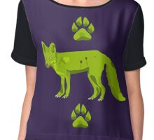 Frederick - The Zomfox (Zombie Fox) Chiffon Top