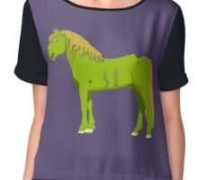Albert - The Zomhorse (Zombie Horse) Chiffon Top