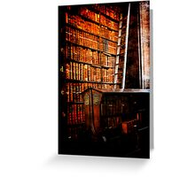 Trinity College Library Dublin Greeting Card