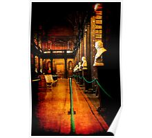Trinity College Library Dublin Poster