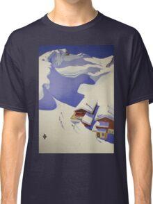 Austrian Ski Poster Classic T-Shirt