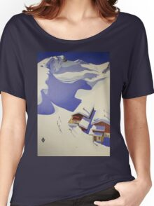 Austrian Ski Poster Women's Relaxed Fit T-Shirt
