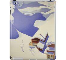 Austrian Ski Poster iPad Case/Skin