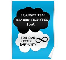 The Fault in Our Stars Quote Poster