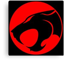 Thundercats Lion O Logo Canvas Print