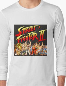 Street Fighter II Arcade Group Shot Tee  Long Sleeve T-Shirt
