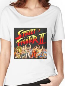 Street Fighter II Arcade Group Shot Tee  Women's Relaxed Fit T-Shirt