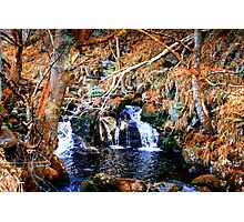Irish Waterfall Photographic Print