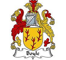 Boyle Coat of Arms / Boyle Family Crest Photographic Print