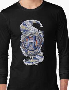 PISCES Aquatic Zodiac sign Long Sleeve T-Shirt