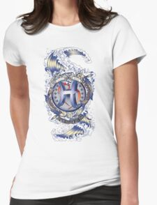 PISCES Aquatic Zodiac sign Womens Fitted T-Shirt
