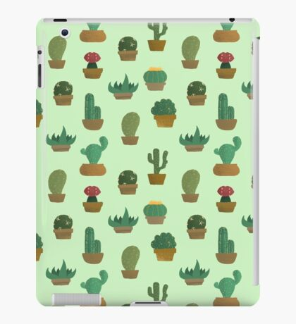 Cactus Pattern iPad Case/Skin