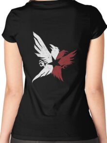 InFamous Second Son Eagles Women's Fitted Scoop T-Shirt