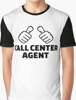 Call center agent Graphic T-Shirt