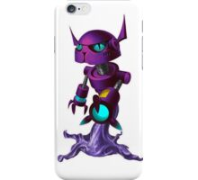 Peewee, the fluxbot with a ton of sass iPhone Case/Skin