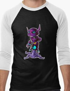 Peewee, the fluxbot with a ton of sass Men's Baseball ¾ T-Shirt