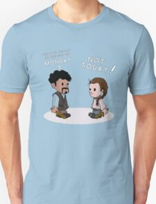 Say NO to the god of Mondays Unisex T-Shirt