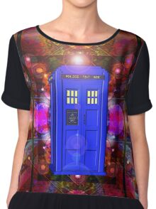 TARDIS IN THE EYE OF ORION 1 Chiffon Top