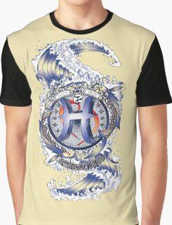 PISCES Aquatic Zodiac sign Graphic T-Shirt