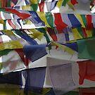 Prayer Flags by John Dalkin