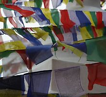 Prayer Flags by John Dalkin
