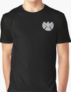 Agents of SHIELD / Light Gray Graphic T-Shirt