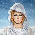 Toyah: Snow Covers The Kiss by marksatchwillart